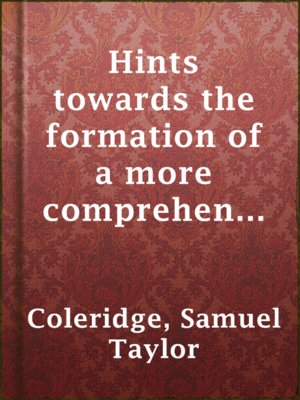 cover image of Hints towards the formation of a more comprehensive theory of life.