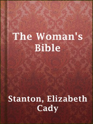 cover image of The Woman's Bible