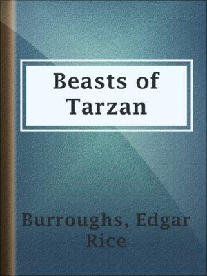 cover image of Beasts of Tarzan