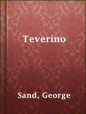 cover image of Teverino