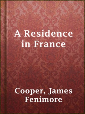 cover image of A Residence in France