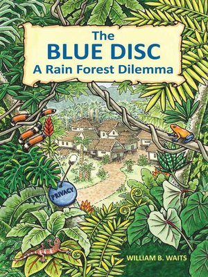 cover image of The Blue Disc