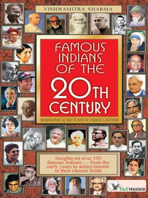 cover image of Famous Indians of the 20th Century