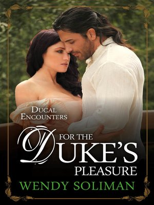 cover image of For the Duke's Pleasure