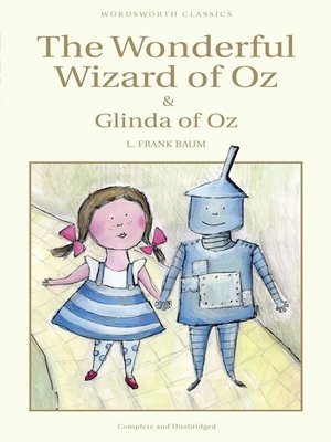 cover image of The Wonderful Wizard of Oz & Glinda of Oz