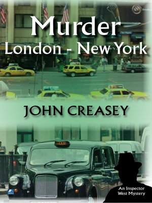 cover image of Murder, London--New York