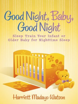 cover image of Good Night, Baby, Good Night