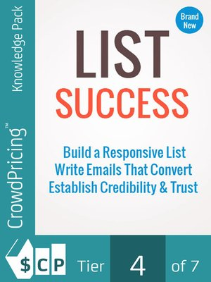 cover image of List Success