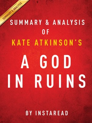 cover image of A God in Ruins by Kate Atkinson / Summary & Analysis
