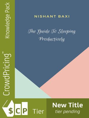 cover image of The Guide to Sleeping Productively