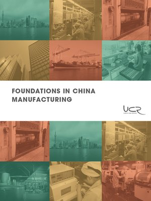cover image of Foundations in China Manufacturing