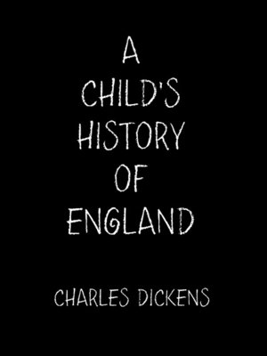 cover image of A Child's History of England