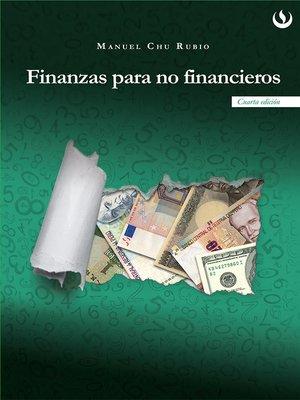 cover image of Finanzas para no financieros