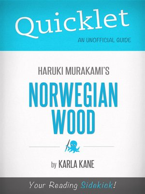 cover image of Quicklet on Norwegian Wood by Haruki Murakami