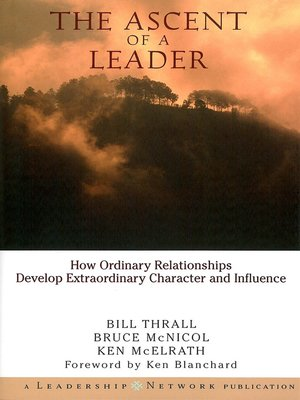 cover image of The Ascent of a Leader