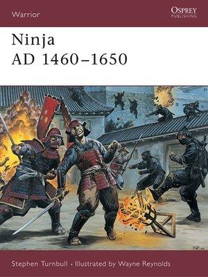 cover image of Ninja AD 1460-1650