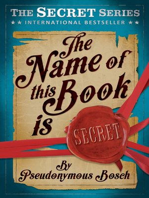 cover image of Name of this Book is Secret