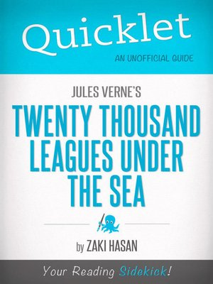 cover image of Quicklet on Jules Verne's Twenty Thousand Leagues Under the Sea