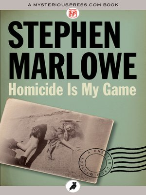 cover image of Homicide Is My Game