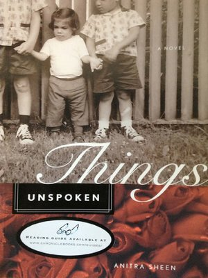 cover image of Things Unspoken