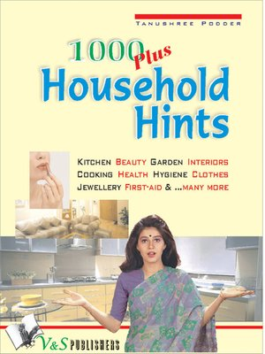 cover image of 1000 Plus Household Hints