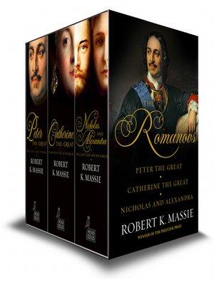 cover image of The Romanovs--Box Set