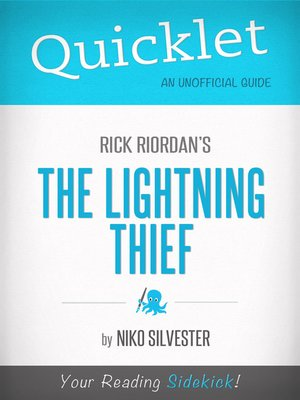 cover image of Quicklet on Rick Riordan's the Lightning Thief