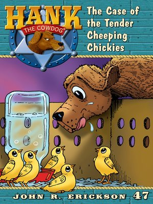 cover image of The Case of the Tender Cheeping Chickies