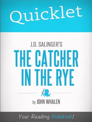cover image of Quicklet on J. D. Salinger's The Catcher in the Rye