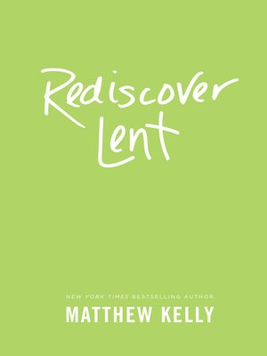 cover image of Rediscover Lent