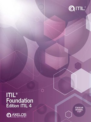 cover image of ITIL® Foundation, édition ITIL 4