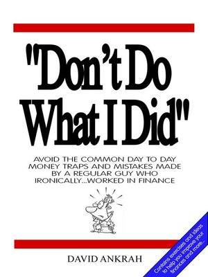 "cover image of ""Don't Do What I Did"""