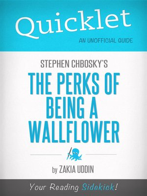 cover image of Quicklet on Stephen Chbosky's the Perks of Being a Wallflower