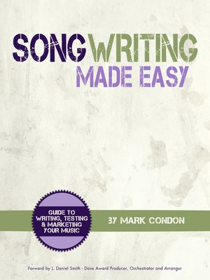 cover image of Song Writing Made Easy