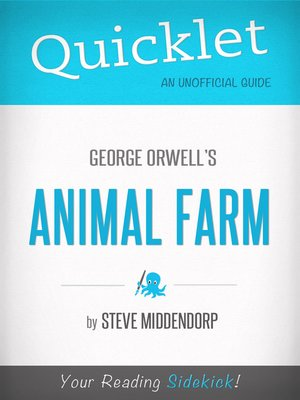 cover image of Quicklet on Animal Farm by George Orwell