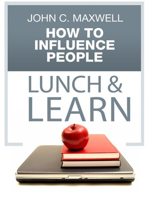 cover image of How to Influence People Lunch & Learn