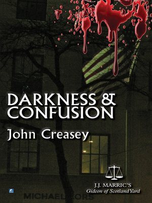 cover image of Darkness and Confusion