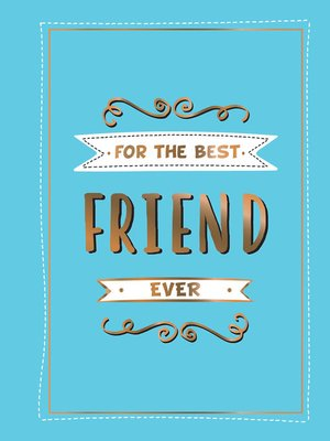 cover image of For the Best Friend Ever