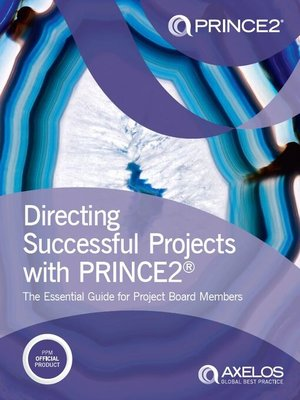 cover image of Directing Successful Projects with PRINCE2