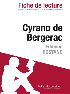 cover image of Cyrano de Bergerac de Edmond Rostand (Fiche de lecture)