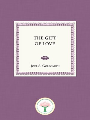 cover image of The Gift of Love