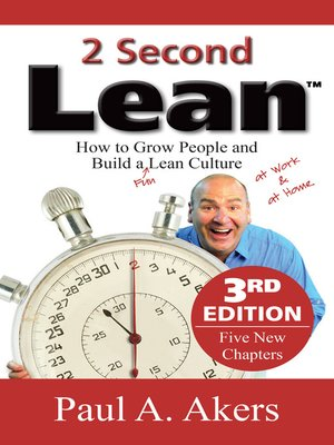 cover image of 2 Second Lean--