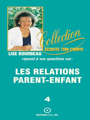 cover image of Les relations parent-enfant