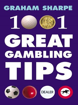 cover image of 1001 Great Gambling Tips
