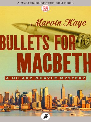 cover image of Bullets for Macbeth