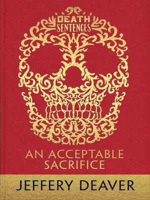cover image of An Acceptable Sacrifice