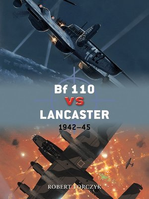 cover image of Bf 110 vs Lancaster
