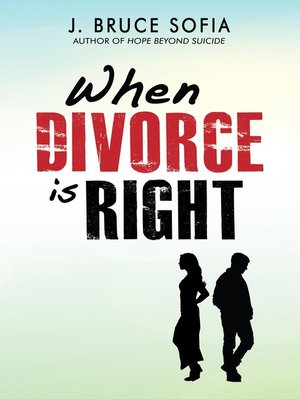 cover image of When Divorce is Right