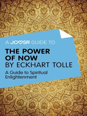 cover image of A Joosr Guide to... the Power of Now by Eckhart Tolle