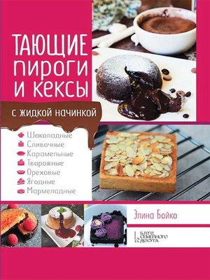 cover image of Тающие пироги и кексы с жидкой начинкой (Tajushhie pirogi i keksy s zhidkoj nachinkoj)